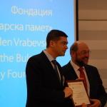 Д-р Милен Врабевски - Европейски гражданин на 2013 г.