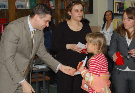 Дарителска инициатива с кмета на София Бойко Борисов
