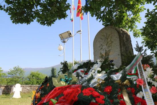 Честване на Деня на храбростта 6 май на българското военно гробище в Ново село, Македония