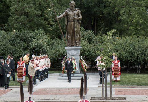 Официално откриване на паметника на цар САМУИЛ в София