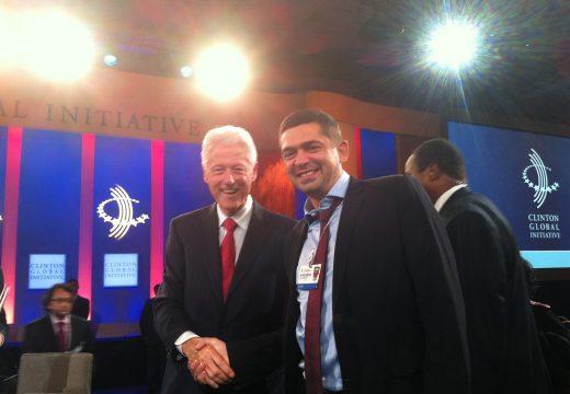 """Д-р Врабески участва в годишната среща на """"Глобалната инициатива на Бил Клинтън"""""""