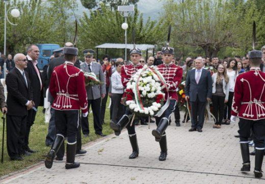Фондация Българска Памет отбелязва 6 май на военния мемориал в Ново село, Р. Македония