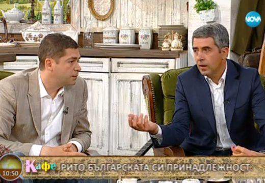 """Д-р Милен Врабевски и Росен Плевнелиев, гости в предаването """"На кафе"""", Нова телевизия"""