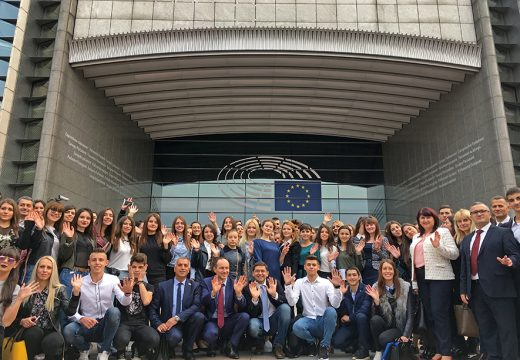 100 деца от българската историческа диаспора посетиха Европейския парламент в Брюксел