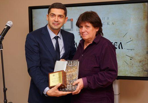 """Д-р Врабевски връчи почетното звание """"Учителят будител на 2017 г."""""""