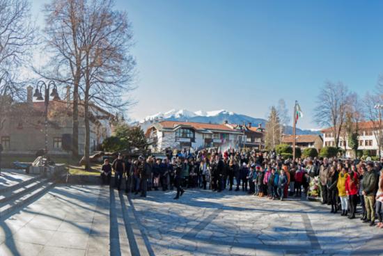 Близо 200 български и македонски младежи отбелязаха заедно годишнината на Никола Вапцаров