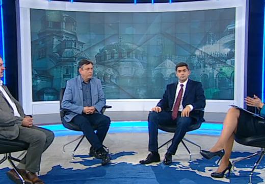 """Д-р Врабевски на гости в предаването """"Брюксел 1"""" с Милена Милотинова по Bulgaria ON AIR"""