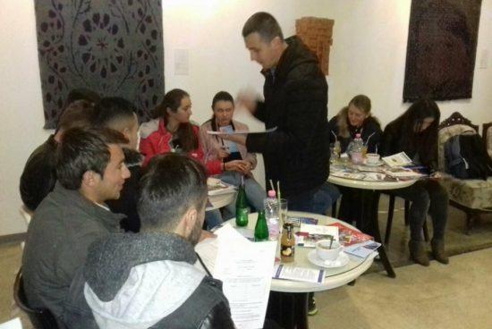 За първи път кандидатстудентска кампания се проведе и в Кукъс, Албания