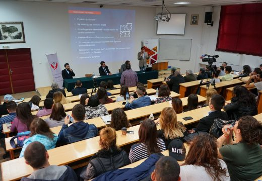 ВТУ посрещна д-р Милен Врабевски с препълнена зала