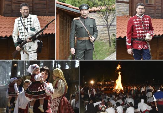 Д-р Милен Врабевски бе специален гост на 11-ия фестивал на фолклорната носия в Жеравна