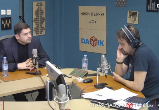"Д-р Врабевски в ""Ники Кънчев Шоу"" по Дарик радио"