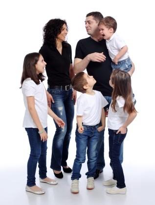 Д-р Росица Врабевска със семейството си