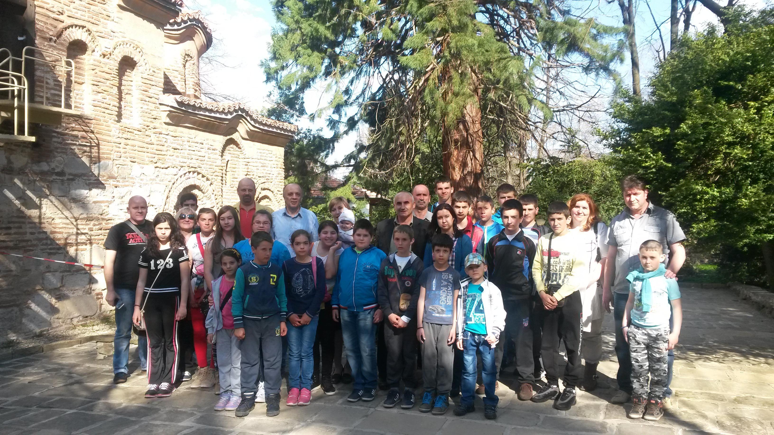 Пред Боянската църква